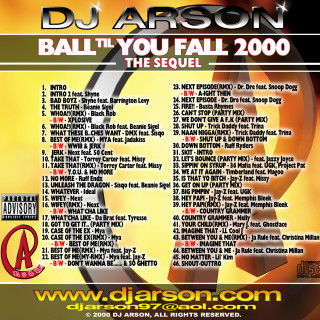 Ball Til You Fall 2000_CDCover_Slim