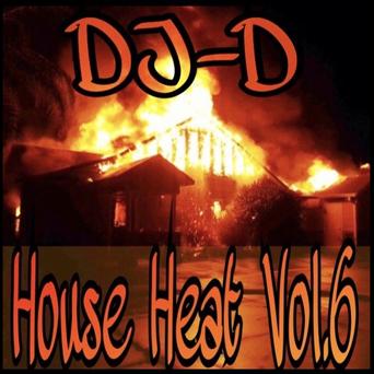 Dj D_House Heat 6_Front Cover_Web